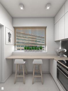 Wygodne stanowisko do szybkich posiłków w pracy - zdjęcie od Dizajnia art - studio projektowe