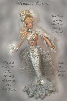 Barbie Mermaid Enchanted Fairy Collector Art Doll Altered OOAK Custom Passion | eBay