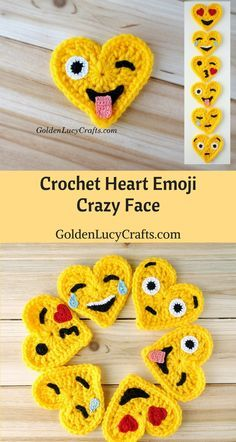 Crochet Emoji Crazy