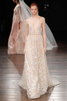 Naeem Khan Spring 2017 bridal collection: http://www.stylemepretty.com/2016/04/17/naeem-khan-bridal-week-spring-2017/