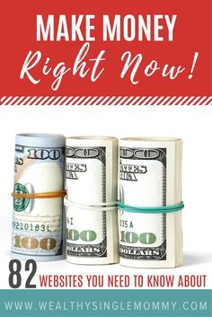 How to make money: 21 side hustle ideas from 82 legitimate websites that show you how to make money from home, make money online, money making ideas, and money making tips.