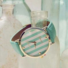 Mint and gold<3 #spool72