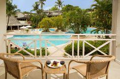 Pool balcony, The Club Barbados Resort and Spa, Barbados