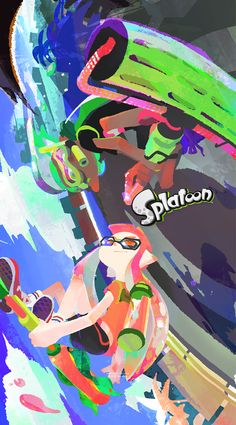 Splatoon ~ weapon (kinda)