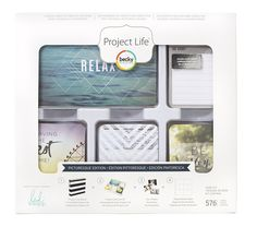 Picturesque edition CORE KIT- комплект карточек для Project Life 576шт