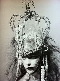 barbed wire opera hat.  yep.  just...yep...