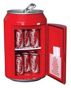 Koolatron CC10G Coca-Cola Can-Shaped 8-Can-Capacity Fridge, Red:Amazon:Appliances on Wanelo