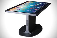 14 Touch Screen Table Designs - From Touchscreen Dining to Futuristic Classroom Desks (TOPLIST)