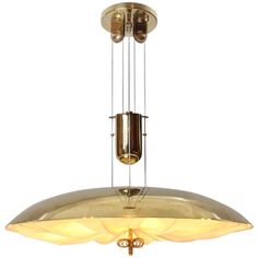 Superb Counterweighted Fixture By Paavo Tynell | From a unique collection of antique and modern chandeliers and pendants  at http://www.1stdibs.com/furniture/lighting/chandeliers-pendant-lights/
