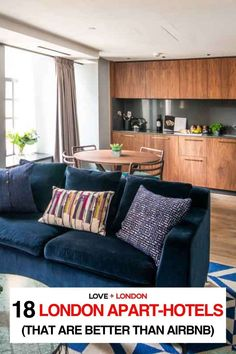 As a Londoner and a travel expert, I don't think anyone should be booking airbnbs in London. If you still want somewhere to stay that has a kitchen and sitting area, here are some incredible London apart-hotels that are better than staying in an airbnb in London. Two Bedroom Apartments, Rental Apartments, London Tips, Phoenix Homes, Travel Expert, Mansions Homes, London Hotels, London Travel, Sitting Area