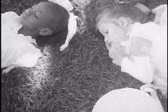 Little Creatures Films: Spirit Lens. Sophia and Anastasia in the grass.