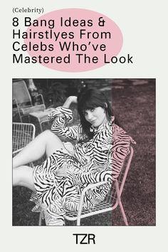 Beauty, hair, celebrity, bangs Celebrity Bangs, Long Bangs, Good Hair Day, Celebs, Celebrities, Cool Hairstyles, Hair Care, Stylists, Hair Styles