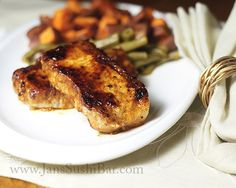 Chipotle Glazed Pork Chops . . . **Becky's Note** Sometimes the simplest recipes are best! Can't wait to try these
