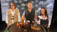 Steampunk in Yle Neo, interview, September 10th, 2013