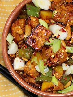 Kung Pao Tofu....yummy