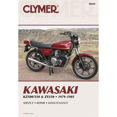 Clymer Kawasaki KZ500/550 & ZX550 (1979-1985)