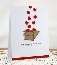 Box of Hearts - I could see this as a grandchild card from grandparent.