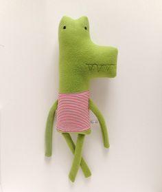 alligator ::  finkelstein's center handmade creature