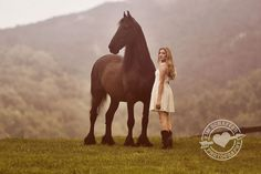 Girl with horse---photography by Kim Schaffer