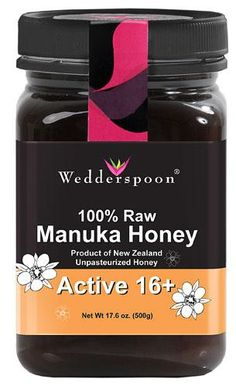 Wedderspoon Manuka Honey 100% Raw Active 16 Plus / 12 Great Gift Ideas For The Natural Haired Person In Your Life