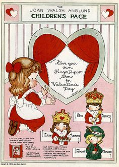 Valentine Finger Puppet Project by Wyld_Hare, via Flickr