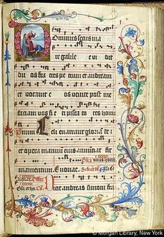 Gradual, MS M.905 II, fol. 1r - Images from Medieval and Renaissance Manuscripts - The Morgan Library & Museum