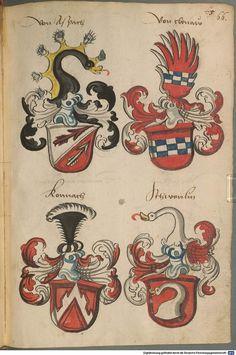 Wappen deutscher Geschlechter Augsburg ?, 4. Viertel 15. Jh. Cod.icon. 311  Folio 66r