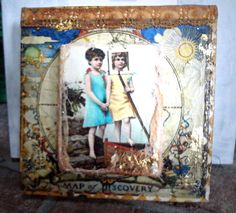 Map of Discovery by pamelahuntington on Etsy, $70.00