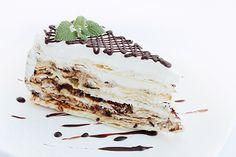 Receta de Tarta Napoleón con Chocolate