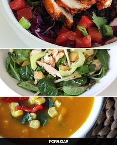 What's the key to fast weight loss? Strong muscles and a healthy diet that feeds them. Kick up your metabolism with these 10 high-protein lunches, each with at