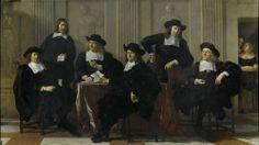 The Regents of the Spinhuis, by Karel Dujardin
