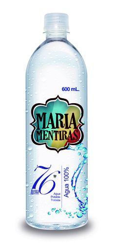 MARIA MENTIRA - CALMA TU SED TOMA AGUA 76º