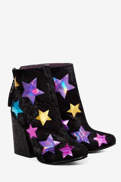 YRU Jem Velvet Boot - Shoes   Boots + Booties