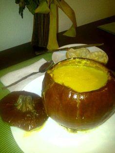Whole Pumpkin Pie Soup # soup # pumpkin