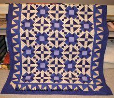 Electric Indigo Quilt Pattern
