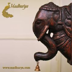 HomeDecor Up for grabs today!!! Wooden decorative Bracket.Add a touch of #Royalty and Mysticism to the corners of your home with this seasoned Teak wood Elephant bracket, that has elaborate Carvings. Check more at http://www.madhurya.com/furniture-online.html/ #furnitureonline #antiquefurniture