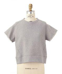 Drawer(ドゥロアー)のDrawer ダブルフェイス カットソー(Tシャツ / カットソー)|ライトグレー
