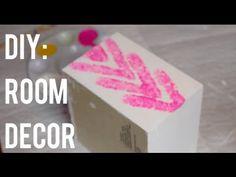 DIY Room decor! #youtube #roomdecor #diy