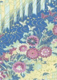 Japanese washi paper creme field a4 6326