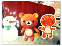 Rila with his Xmas friends!
