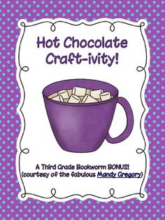 Classroom Freebies Too: Hot Chocolate Craft, Anyone? Teaching Activities, Teaching Writing, Teaching Ideas, Chocolate Crafts, Hot Chocolate, Second Grade Writing, Classroom Freebies, Classroom Ideas, Informational Writing