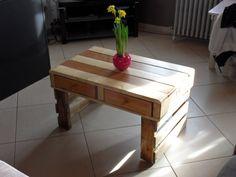 Table de salon en palette de récup par Standard2 sur L'Air du Bois