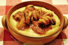 Seppie in umido con polenta - ricetta con il pesce