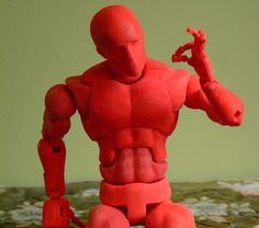 Open Source Action Figure with 70 Points of Articulation (aka Dexter) by jasonwelsh.