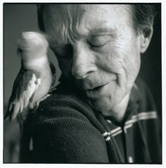 """Hubert Selby JR (1928-2004) - American writer. Photo by Sylvia Plachy Hubert """"Cubby"""" Selby, Jr. was a 20th-century American writer. His best-known novels are Last Exit to Brooklyn and Requiem for a Dream, exploring worlds in the New York area"""