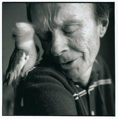 Hubert Selby JR photo Sylvia Plachy