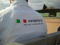 Tennisteam gesponsord by Arbrini..