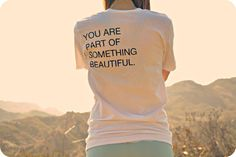Love this. :: organic cotton white tee by purushapeople on Etsy