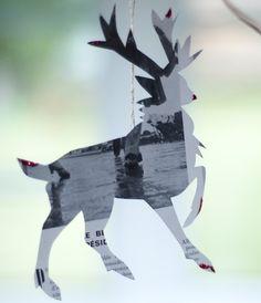 Rudolph Ornament. Royal Buffet