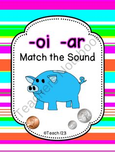 oi / ar literacy center  from Teach 123 on TeachersNotebook.com (10 pages)  - oi/ar literacy unit.  A great supplement to your money unit.  $
